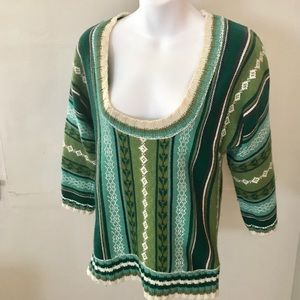 Old Navy Green Holiday Sweater